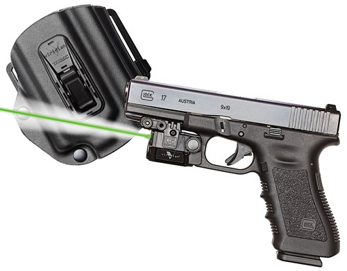 Viridian C5L Green Laser w/Holster C5LPACKC1, 100 Lumes, For Glock 17/19/23