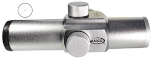 Adco A1B Alpha Dot Sight - 1IN, Black