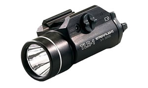 Streamlight 69110 TLR-1 Weapon Mounted Tactical Flashlight