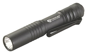 Streamlight Microstream 66318, LED, Aluminum, Black