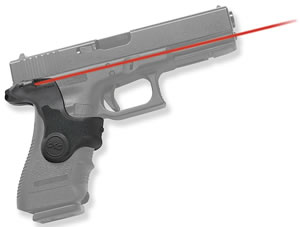Crimson Trace LG417 Front Activation Button Laser Grip For Glock 17/19