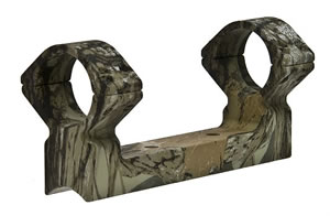 Talley H960420 Camo 1 inch Extra High Rings/Base Set For New England Handi Rifle