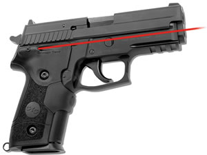Crimson Trace LG429  Rubber Lasergrip for Sig P229 Front Activation