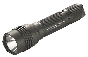 Streamlight 88040 C4 LED 600 Lumen HL High Lumen ProTac 3V Professional Tactical Flashlight and Holster, Aircraft Aluminum, Lithium, Waterproof, Black