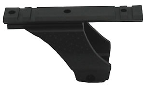 Walther 512102, Pistol P22 Bridge Scope Mount With Rail, Black Finish