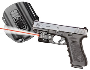Viridian C5L Red Laser w/Holster C5LRPACKC1, 100 Lumes, For Glock 17/19/23
