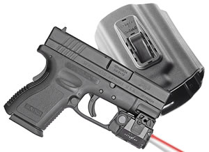 Viridian C5L Red Laser w/Holster C5LRPACKC3, 100 Lumes, Springfield XD/XDM