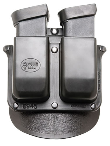 Fobus Roto Double Magazine Pouch w/Adj Paddle 6945RB, For Glock 20, 21, 29/30 Taurus PT 145