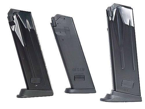 H&K 215668S Mark 23 45 ACP 12 rd Magazine, Black Finish