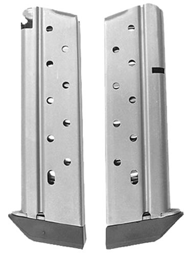 Chip McCormick 13111 10 Round 38 Super Magazine w/ Stainless Finish & Pad