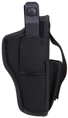 BlackHawk Ambid. Holster w/Mag Pouch For 4.5 in -5 in Barrel Large Autos, Model 40AM03BK