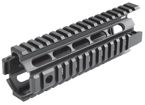 Mission First Tactical XM4SD AR15/M16 Military & Police 4 Sided Rail - Aluminum M-4 Carbine                           , Black