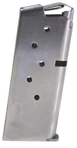 Sig Sauer MAG93897 P938 9mm 7 rd Magazine, Stainless Finish