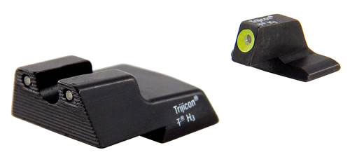 Trijicon HK110Y Tritium HD H&K HK Green Front/Rear Yellow Front Outline