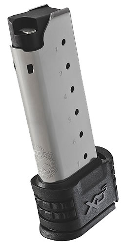 Springfield Armory XDS09061 XDS 9mm 9 rd Magazine, Stainless Steel Finish