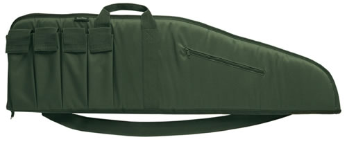 Bulldog BD441 Assault Extreme Tactical Rifle Case OD Green Soft 40 in