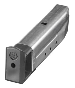 Ruger 90052 10 Round Stainless Magazine For Model P85 / P89