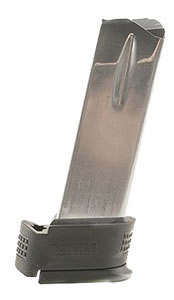 Springfield XD0932 12 Round Stainless Magazine w/ Extension Sleeve For XD 40 Subcompact