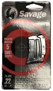 Savage 90009 5 Round Stainless Magazine For 90 Series 22 Magnum / 17 HMR