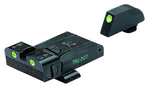 Meprolight 20224 Tru-Dot Adjustable Sight For Glock 17,19,20,21,22,23