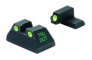 Meprolight 11516 Green Front/Rear Tru-Dot Fixed Sight For H&K USP Full Size