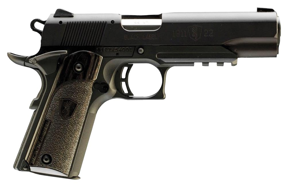 Browning 051816490 1911-22 A1 Black Label Pistol 22 LR For Sale ...