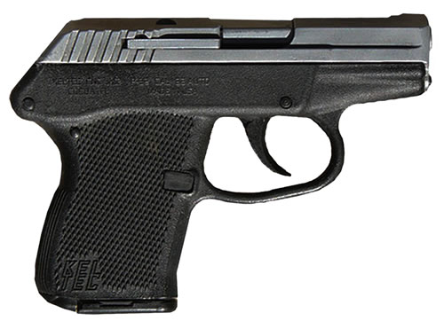 Kel-Tec Model P-32 Pistol P32, 32 ACP, 2.68 in BBL, Dbl Actn Only, Polymer Grips, Blue Finish, 7 + 1 Rds
