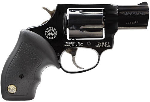 Taurus Model 85FS Revolver 2850021FS, 38 Special+P, 2 in BBL, Rubber Grip, Blued Finish, 5 Rds
