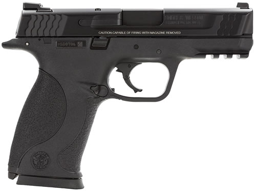 Smith & Wesson Model M&P 45 Pistol 109307, 45 ACP, 4 in BBL, Dbl Actn Only, Polymer Grips, 3-Dot Sights, Blk Melonite Finish, 10 + 1 Rds
