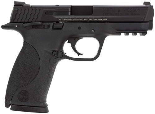 Smith & Wesson M&P 40 Full Size Pistol 206300, 40 S&W, 4 1/4 in BBL, Dbl Actn Only, Blk Syn Grips, Blk Finish, 15 + 1 Rds
