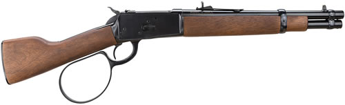Rossi Model 92 Ranch Hand Lever Action Pistol RH9257121, 45 Long Colt, 12 in, HaRdwood Grip, Blue Finish, 6 + 1