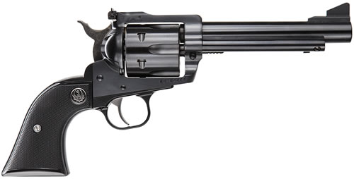 Ruger Blackhawk BN455X Convertible Revolver 0463, 45 ACP/45 Long Colt, 5.5 in BBL, Black Grip, Blued Finish, 6 Rds