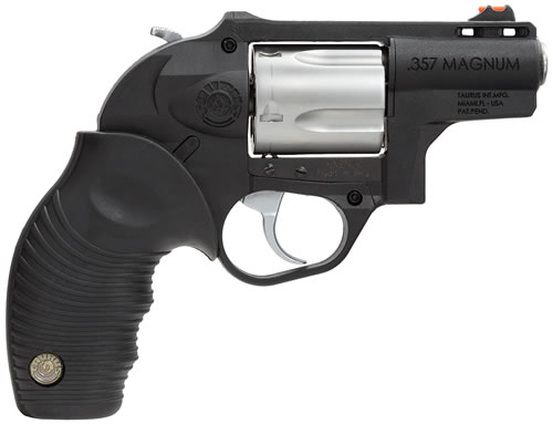 Taurus Model 605 Revolver 2605029PLY, 357 Rem Mag, 2 in, Polymer Grip, Stainless Finish, 5 Rd