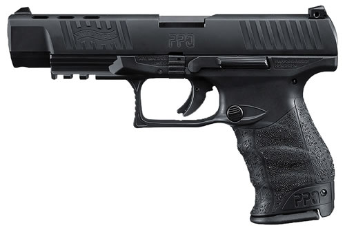 Walther PPQ M2 Pistol 2796104, 40 S&W, 5 in, Polymer Grip, Black Finish, 12+1 Rd