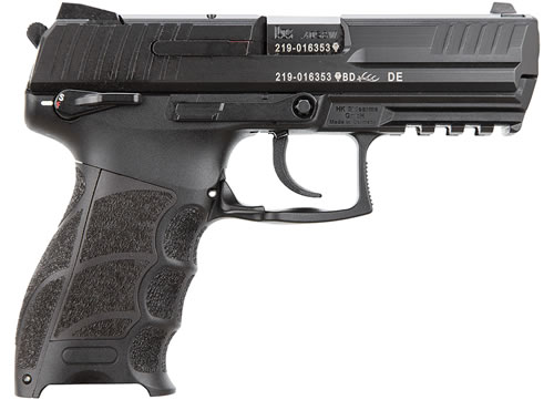 HK Model P30S V3 Pistol 734003SA5, 40 S&W, 3.86 in, Semi-Auto, DA/SA, Ambi Safety/Decocking, Interchangeable Backstraps Grip, Black Finish, 10+1 Rd