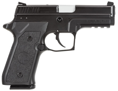 Chiappa M27E Tactical Pistol  440033, 9mm, 3.9 in, Black Polymer Grip, Black Finish, 15+1 Rd, Dbl Act Only