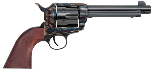 Traditions Frontier 1873 Single Action Revolver SAT73003, 45 Colt, 5.5 in, Walnut Grip, Case Hardened Finish, 6 Rd