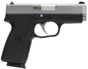 Kahr Model CW9 Pistol CW9093, 9 MM, 3 1/2 in BBL, Dbl Actn Only, Polymer Grips, Blk Polymer/SS Finish, 7 + 1 Rds