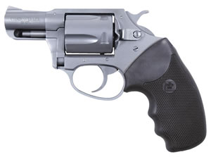 Charter Arms Undercover Lite Revolver 53820, 38 Special + P, 2 in BBL, Sngl / Dbl, Blk Rubber Grips, Fixed Sights, Aluminum Finish, 5 Rds