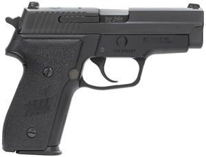 Sig Sauer Model P228 M11-A1 Pistol  M11A1, 9 mm, 3.9 in, Black Grip, Black Finish, 15+1 Rd
