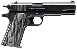 Walther Colt 1911 Government Tribute Pistol 5170304, 22 Long Rifle, 5 in, Rubber Grip, Finish, 12+1 Rd
