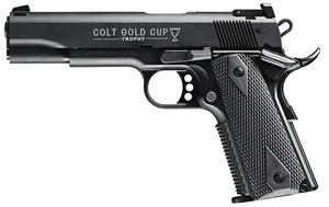 Walther Colt 1911 Gold Cup Tribute 5170306, 22 Long Rifle, 5 in, Rubber Grip, Finish, 12+1 Rd