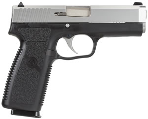 Kahr Model CT40 Pistol CT4043, .40 S&W, 4 in, Dbl Actn Only, Blk Polymer Grips, 3-Dot Sights, Blk Polymer/SS Finish, 7 + 1 Rds