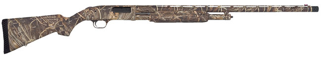Mossberg Model 500 Waterfowl Shotgun 51266, 12 GA, Pump , 28 in Ported BBL, 3 in Chmbr, Max-4 Camo Stock, 4 + 1 Rds, Imp Cyl/Mod Choke