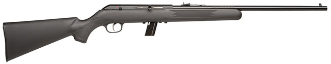 Savage Model 64F Rimfire Rifle 40001, 22 Long Rifle, Semi-Auto, 20 1/4 in, Black Syn Stock, Blue Finish, 10 + 1 Rd, No Accutrigger