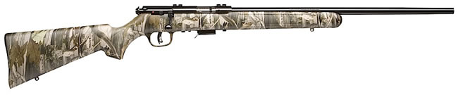 Savage Model 93R17CAMO Rimfire Rifle 96711, 17 HMR, Bolt Action, 21 in, Realtree HD Stock, Blue Finish, 5 + 1 Rd