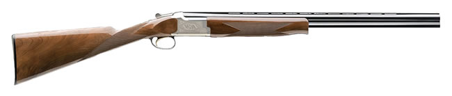 Browning Citori Superlight Feather Shotgun 013055705, 20 GA, Over/Under, 26 in BBL, 2 3/4 in Chmbr, American Walnut Stock, Blue Finish, 2 Rds
