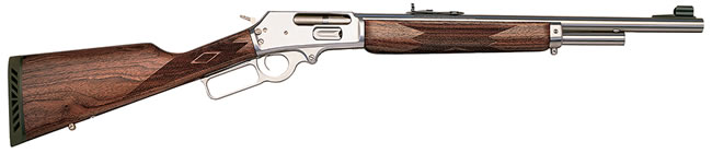 Marlin Model 1895G  Rifle 1895GS 70464, 45-70 Govt, Lever, 18 1/2 in, Walnut Stock, Stainless Finish, 4 + 1 Rd