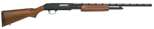 Mossberg Model 500 All Purpose Field Shotgun 50104, 410 GA, Pump , 24 in BBL, 3 in Chmbr, Wood Stock, Blue Finish, 4 + 1 Rds