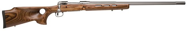 Savage Model 12BTCSS Rifle 18518, 22-250 Remington, Bolt Action, 26 in, Lam Thumbhole Stock, Stainless Finish, 4 + 1 Rd, DBM